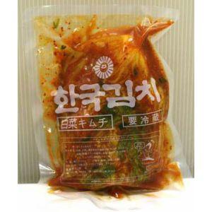 ほど良い辛みと奥深い旨みの韓国キムチ業務用に最適です 三輝手造りキムチ 定番 500g 祝日 ホール