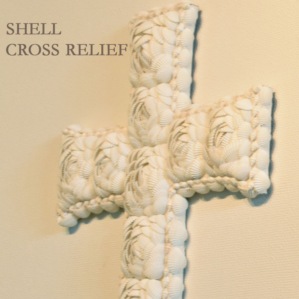 kanmuryou | Rakuten Global Market: Shell cross relief 41*31cm relief ...