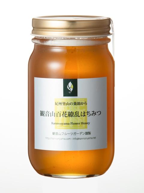 観音山百花繚乱はちみつ(取手付き瓶)130g