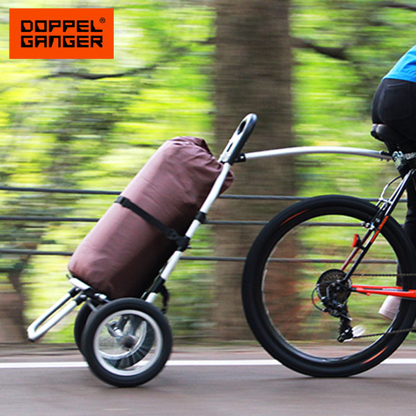 サイクルトレーラー 自転車トレーラー キャリーカート キャリートラック 台車ドッペルギャンガー DOPPELGANGER モバイルサイクルトレーラー dcr347