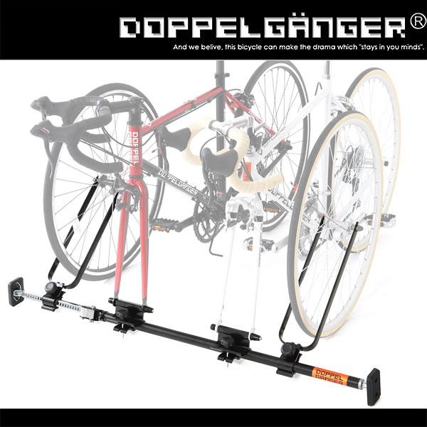 サイクルキャリア 自転車 キャリア 車載 カーキャリア ホイールサポート doppelganger ドッペルギャンガー インカーサイクルペアキャリア dds376