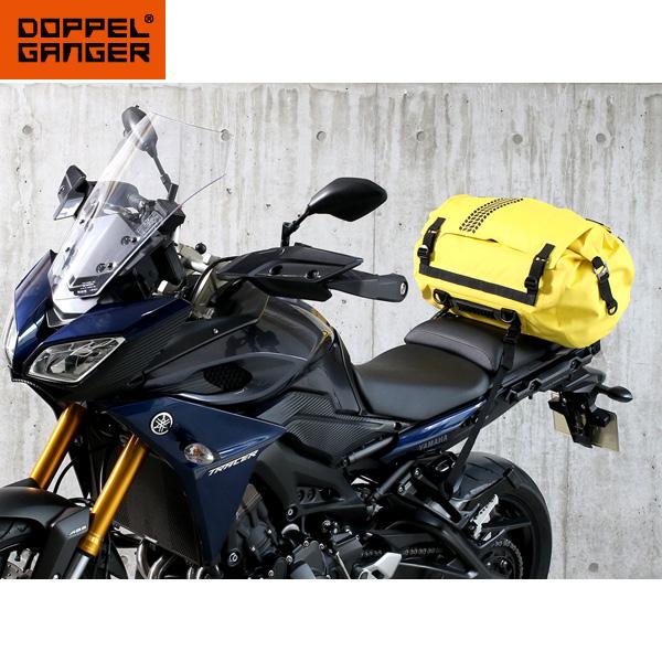 バイク乗り専用にはワケがある 限定モデル パッキングを攻略する防水ツーリングバッグ DOPPELGANGER ターポリンツーリングドラムバッグ DBT511-YL シートバッグ ツーリング バイク スーパーセール 防水バッグ ドッペルギャンガー ツーリングバッグ