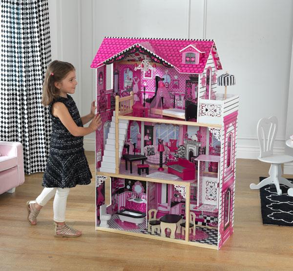 【送料無料】ドールハウス キット 木製 家具 キッドクラフト アメリアドールハウス