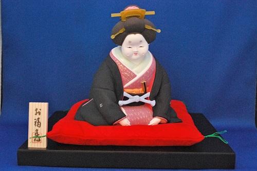 京人形 豪勝作 お福さん(特上)