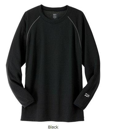 ダイワ  DU-3507S ブレスマジックR ウール クルーネックシャツ(厚手)