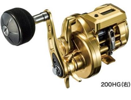 シマノ オシアコンクエストCT 200HG(右)