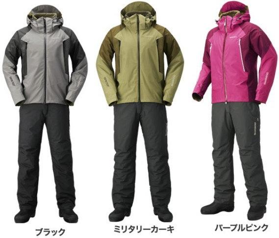 シマノ ゴアテックス ベーシックウォームスーツ RB-017R
