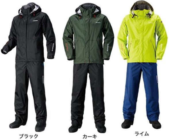 シマノ DSベーシックスーツ RA-027Q(無地) 2XL