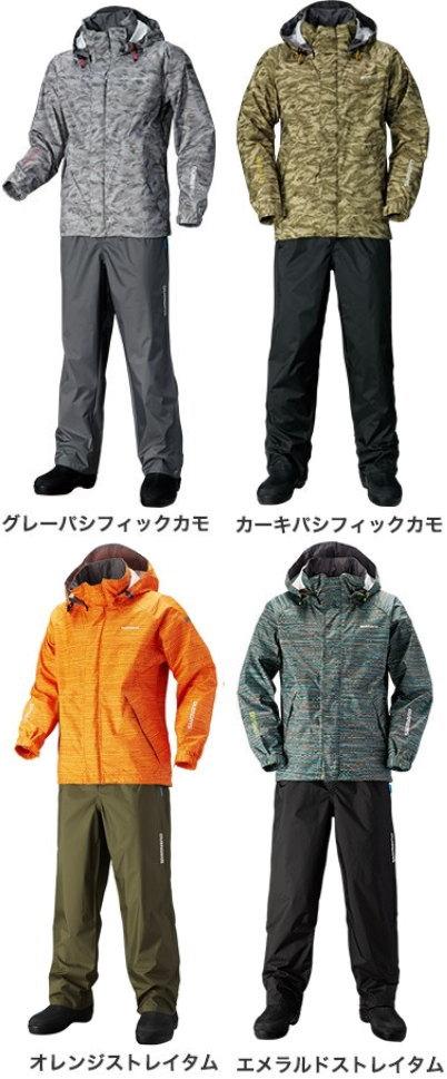 シマノ DSベーシックスーツ RA-027Q(プリント柄) M~XL
