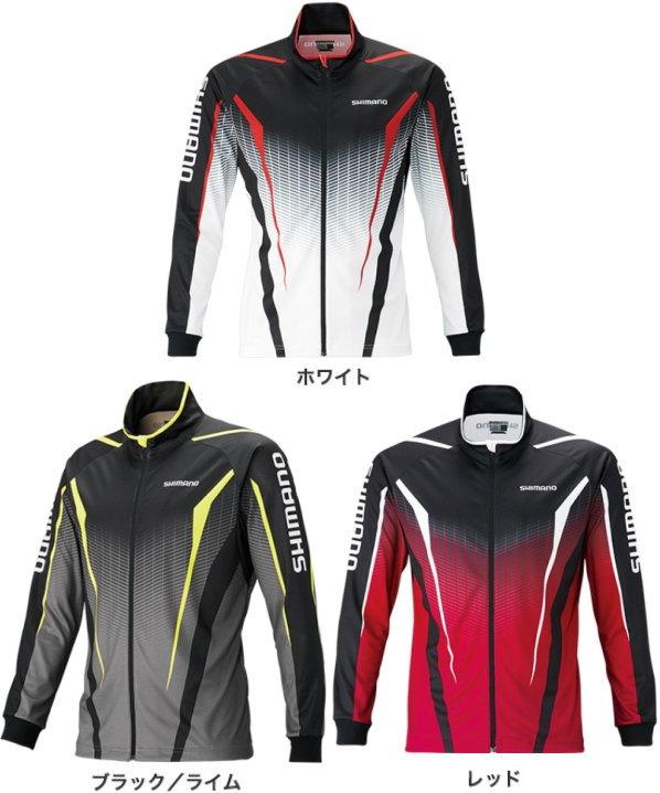 シマノ フルジッププリントシャツ(長袖) SH-051S 2XL