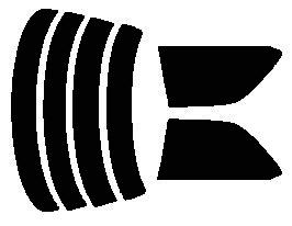 原料着色ハードコートフィルム リヤセット ローレル SC34・HC34・GCC34・GC34・GNC34 カット済みカーフィルム アイケーシー株式会社製のルミクールSDフィルムを使用