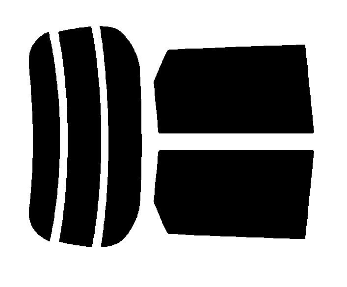 原料着色ハードコートフィルム リヤセット N-ONE JG1 JG2 カット済みカーフィルム アイケーシー株式会社製のルミクールSDフィルムを使用