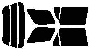 ●原料着色ハードコートフィルム リヤガラス、リヤサイドガラス各色選択可能 パートナー EY6・EY7・EY8・EY9 リヤセット カット済みカーフィルム アイケーシー株式会社製のルミクールSDフィルムを使用