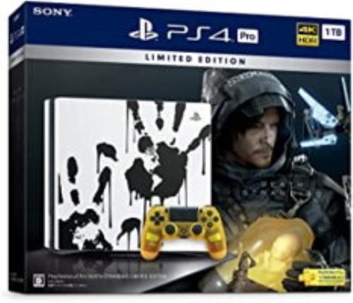 PlayStation 4 Pro DEATH STRANDING LIMITED EDITION[新品]