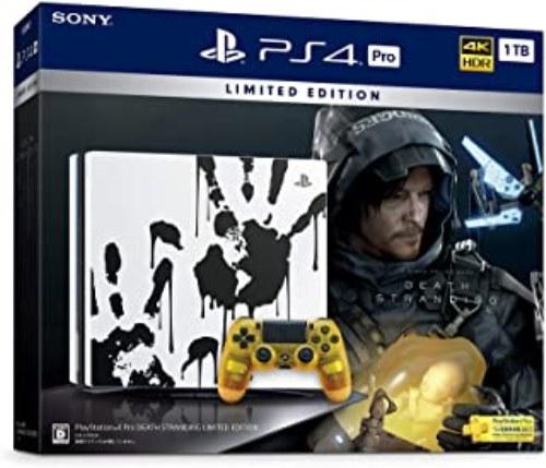 【中古本体】【8000円以上送料無料】 【ソフト未開封品】PlayStation 4 Pro DEATH STRANDING LIMITED EDITION【中古】[☆2]