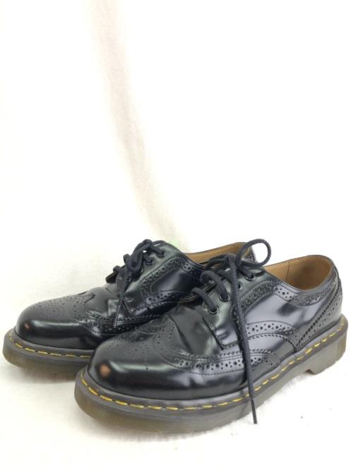 Dr.Martens×COMME des GARCONS HOMME DEUX ドクターマーチン×コムデギャルソンオムデュー ウィングチップ ブラック 8 ブーツ/メンズ・ブーツ【中古】[☆3]