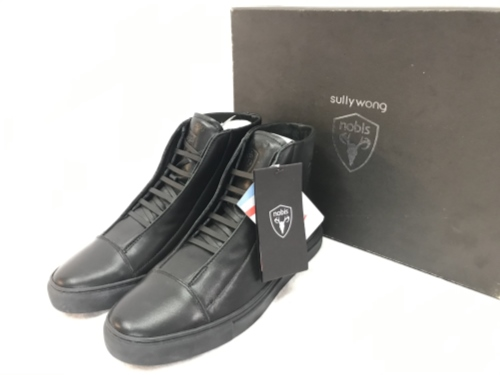 SULLYWONG × nobis サリーウォング ノビス SWNOBIS02 サイズ8 ブーツ ブラック 箱有り/メンズ・ブーツ【中古】[☆4]