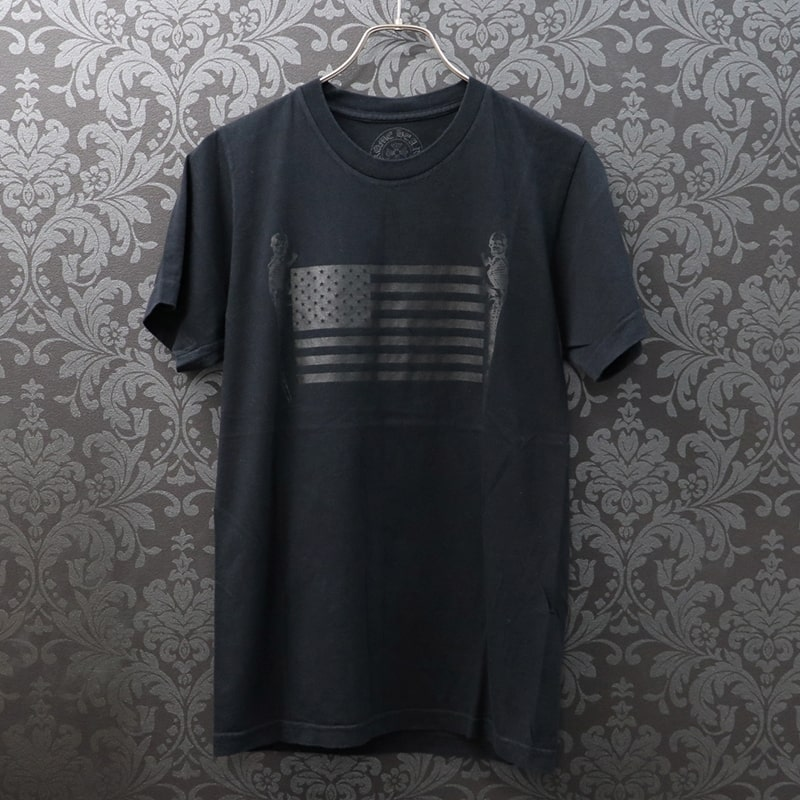 クロムハーツ【CHROMEHEARTS】フォティプリントTシャツ/FOTI/カットソー/S【中古】20-496
