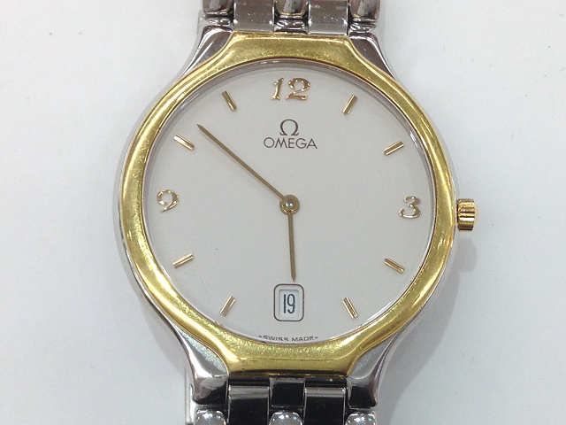 メンズ時計【中古】 OMEGA オメガ DeVille デビル クオーツ時計【楽ギフ_包装選択】