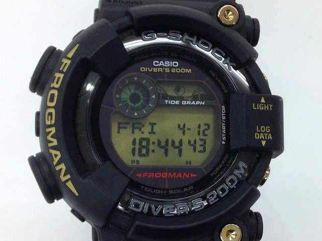 メンズ時計【中古】 CASIO カシオ Gショック フロッグマン GF-8235D-1BJR 35周年限定モデル  G-ショック タフソーラー【楽ギフ_包装選択】