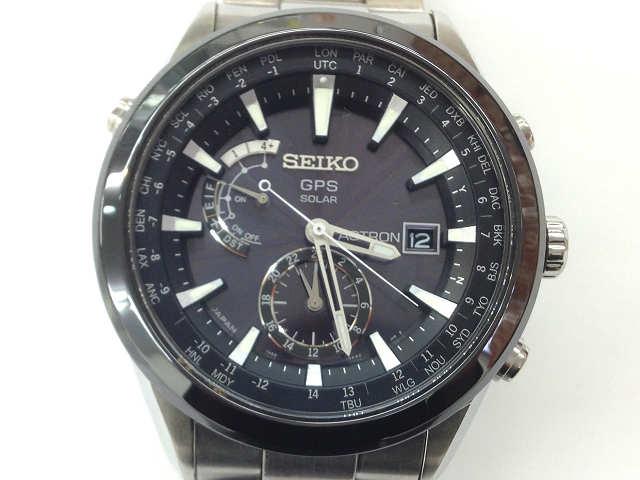 メンズ時計【中古】 SEIKO セイコー アストロン GPSソーラー電波 7X52-0AA0【楽ギフ_包装選択】