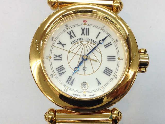 時計【中古】 CHARRIOL  フィリップシャリオール コロンブス 39.92.553 クオーツ【楽ギフ_包装選択】