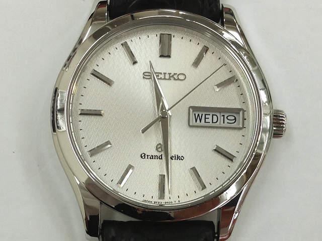 メンズ時計【中古】 SEIKO セイコー グランドセイコー 9F83-9A00 クオーツ ベルト社外品【楽ギフ_包装選択】