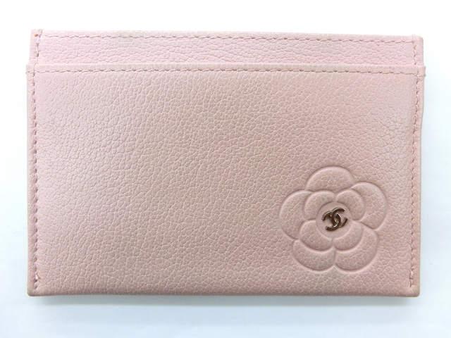 レディース【中古】 CHANEL シャネル カードケース ピンク【楽ギフ_包装選択】