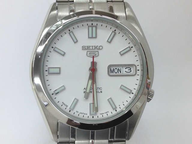 メンズ時計【中古】 SEIKO セイコー セイコー5 SNKE79J1 自動巻き 白文字盤 腕時計【楽ギフ_包装選択】