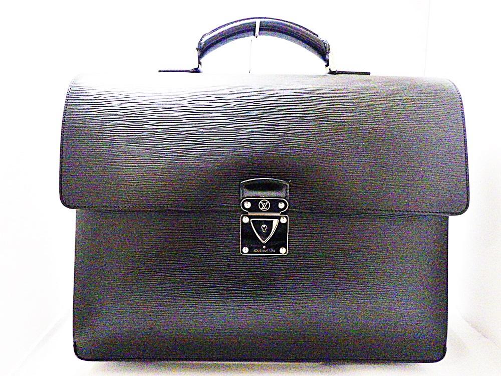 【中古】ルイ ヴィトン LOUIS VUITTON LV M54542 ロブスト2 エピ ビジネスバッグ ブリーフケース 黒 ブラック 質屋 かんてい局 17-3036