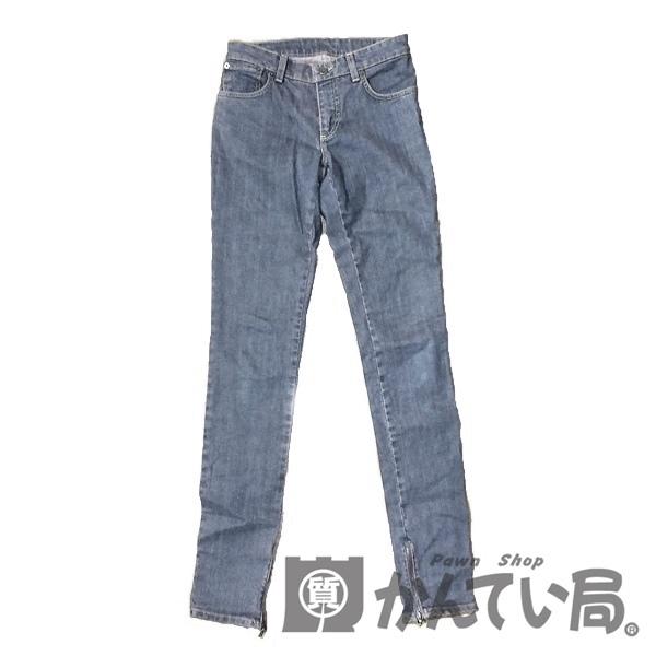 LOUIS VUITTON ルイヴィトン 日本メーカー新品 人気急上昇 キルティング デニム パンツ 中古 A 36 used レディース