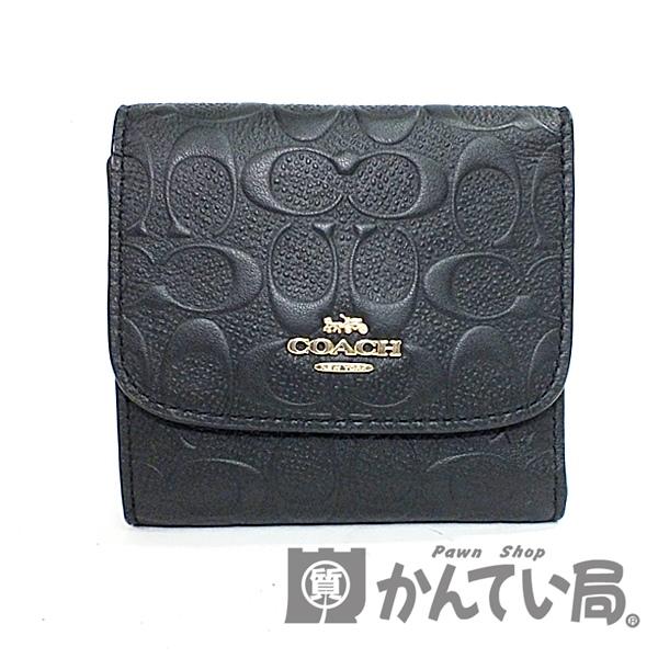 COACH コーチ F88004 シグネチャー スモールウォレット中古used SA