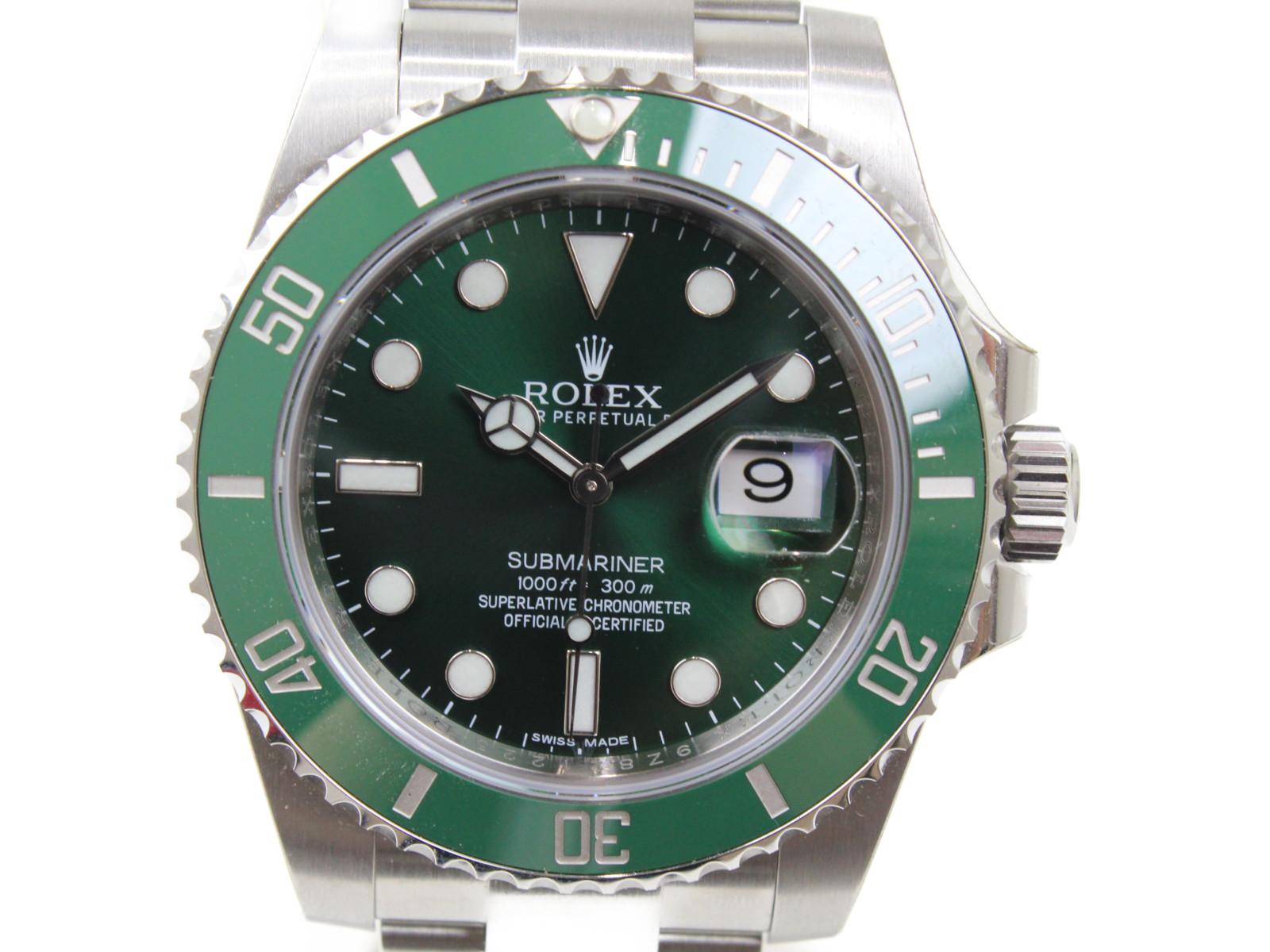 【完全未使用品】ROLEX ロレックス サブマリーナーデイト 116610LV ランダム 自動巻き デイト SS ステンレススチール セラミックベゼル グリーン グリーンサブ 緑サブ メンズ 腕時計【中古】