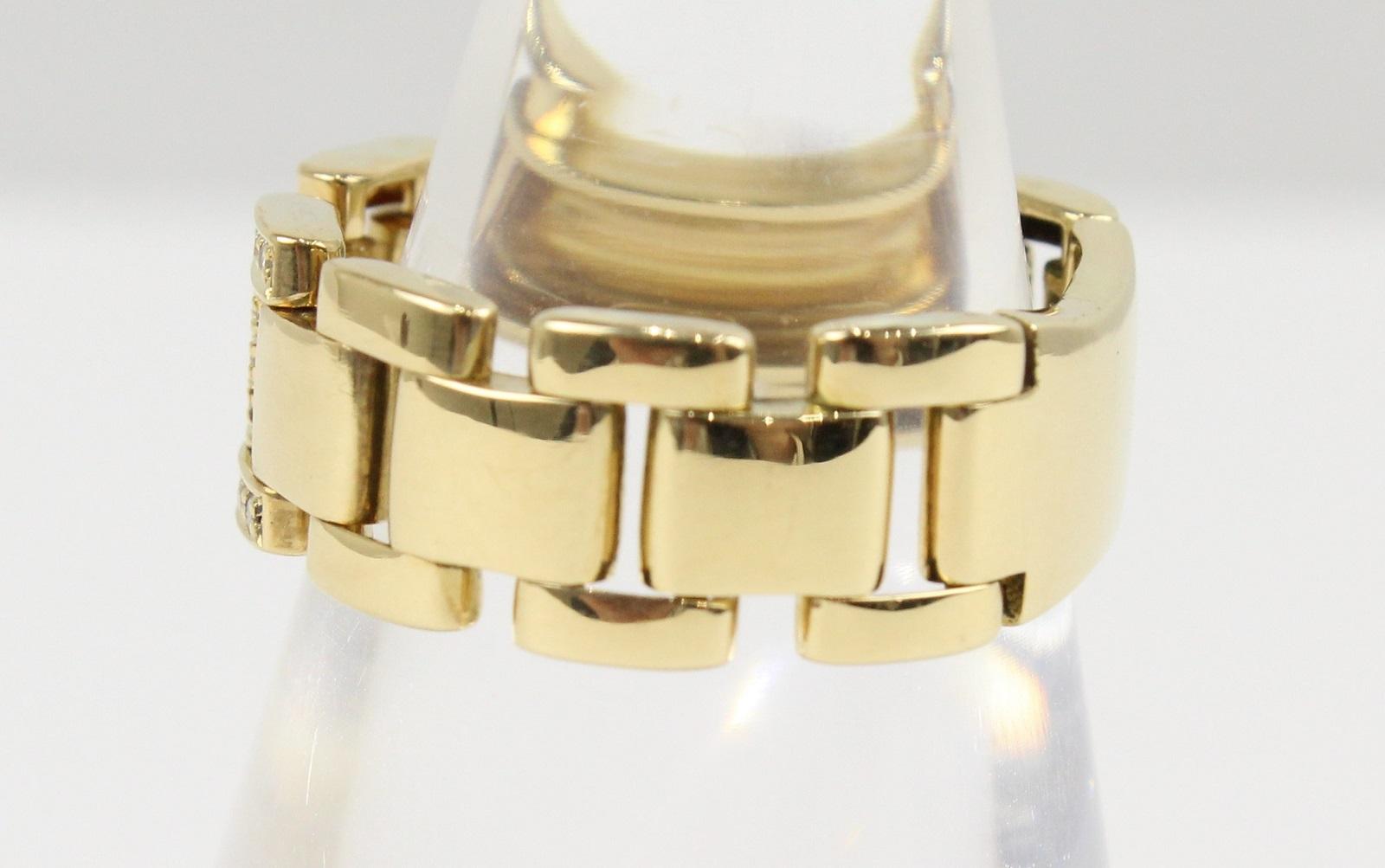 Hデザインリングダイヤモンド0.10ctK185g14号エレガントギフト包装可【】