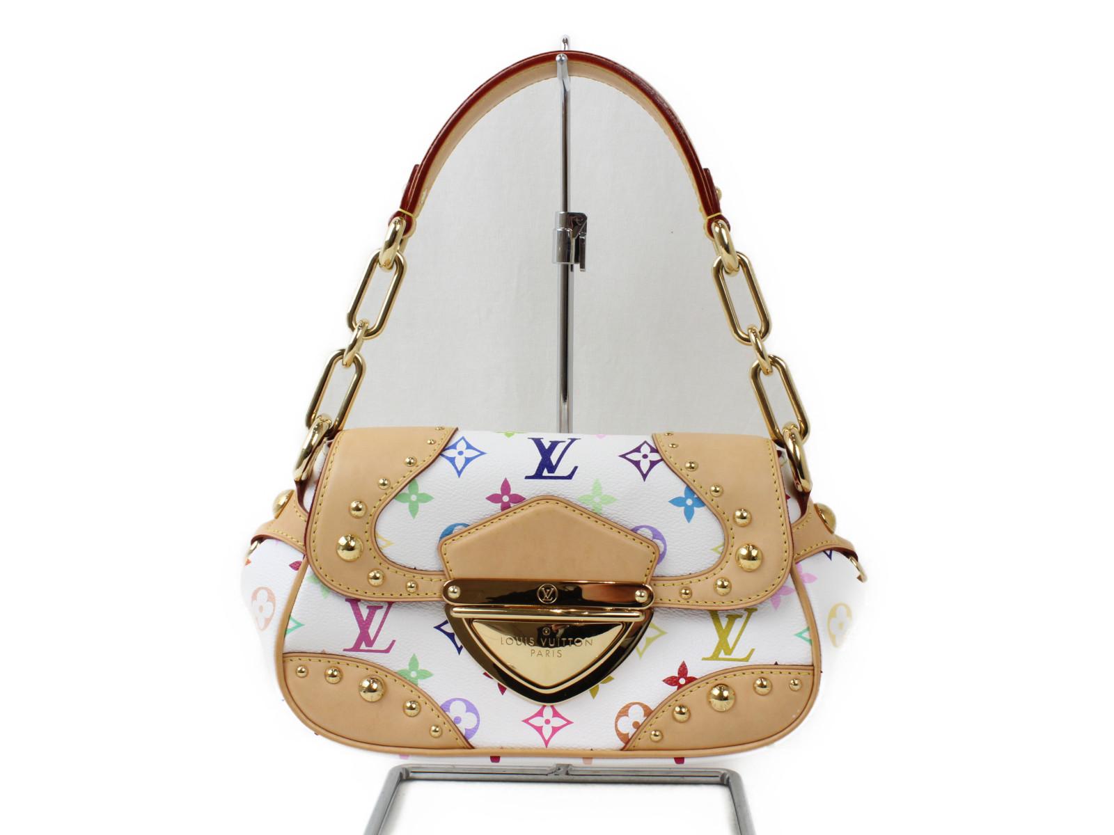 LOUIS VUITTON ルイヴィトンマリリン M40127マルチカラー ハンドバッグ コンパクトカワイイ プレゼント包装可【中古】