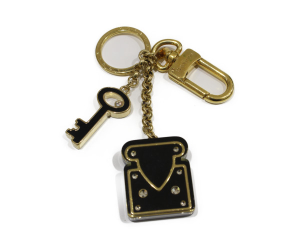 LOUIS VUITTON ルイヴィトンロックモチーフ・キーホルダー M66979キーホルダー オシャレプレゼント包装可 【中古】