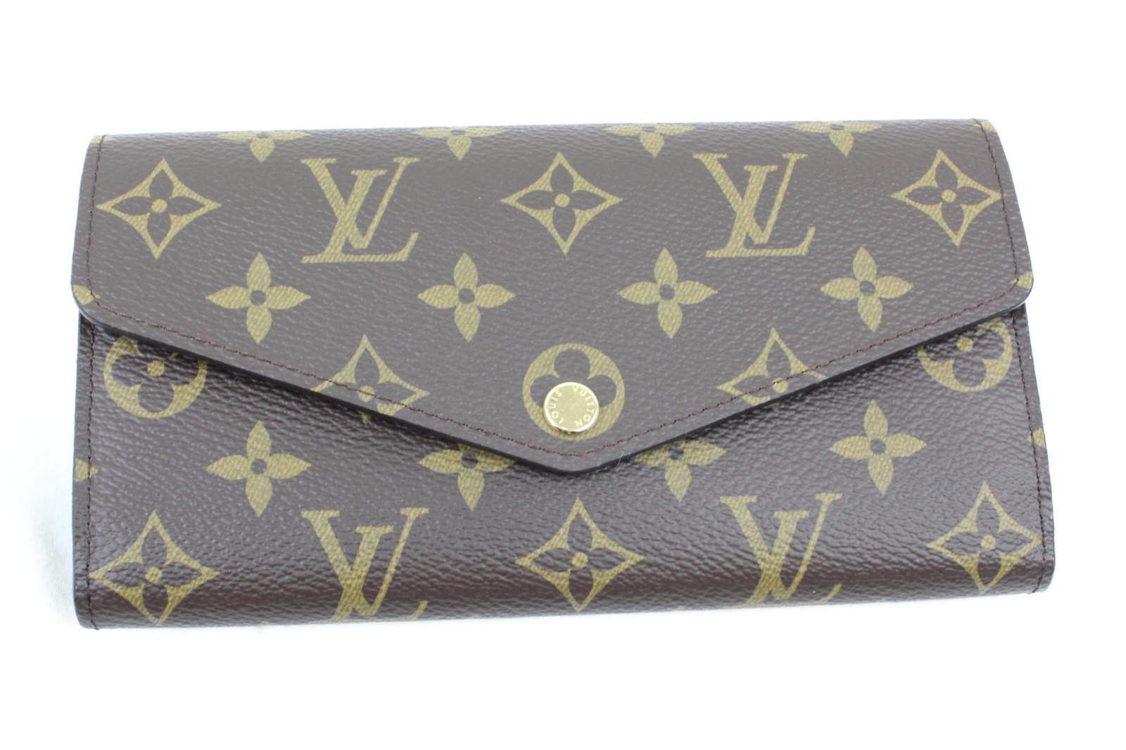 【箱、布袋有り】LOUIS VUITTON ルイヴィトン M62234 ポルトフォイユ・サラ モノグラム 二つ折り長財布 レディース 女性 ブランド プレゼント ギフト 【中古】