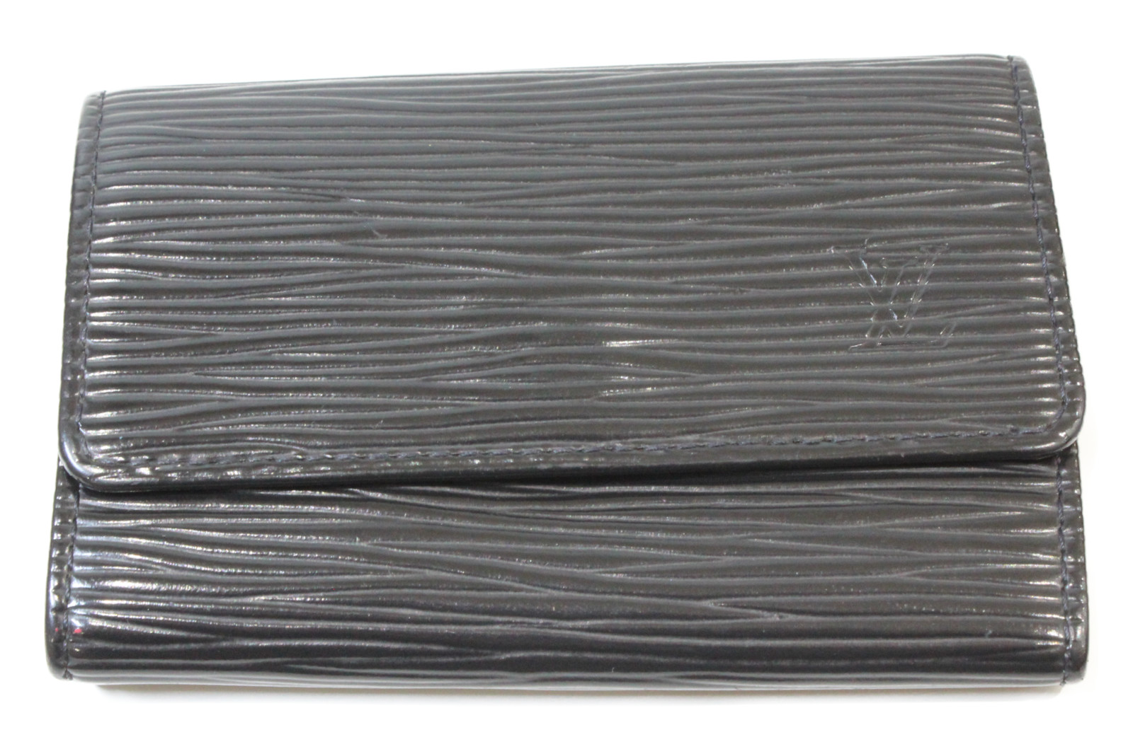 LOUIS VUITTON ルイヴィトンミュルティクレ6 M63812エピ ブラックキーケース シンプルプレゼント包装可 【中古】