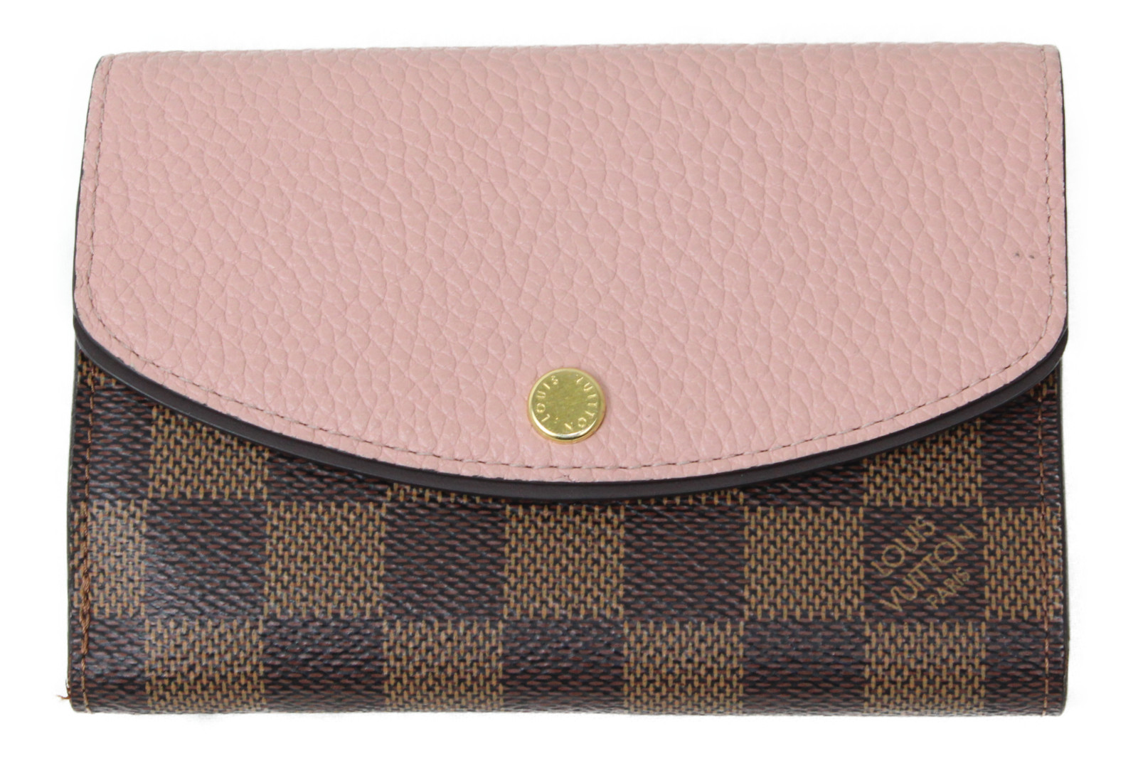 【箱、布袋有り】LOUIS VUITTON ルイヴィトン N60043 ポルトフォイユ・ノルマンディ ダミエ 二つ折り財布 レディース 女性 ブランド プレゼント ギフト 【中古】