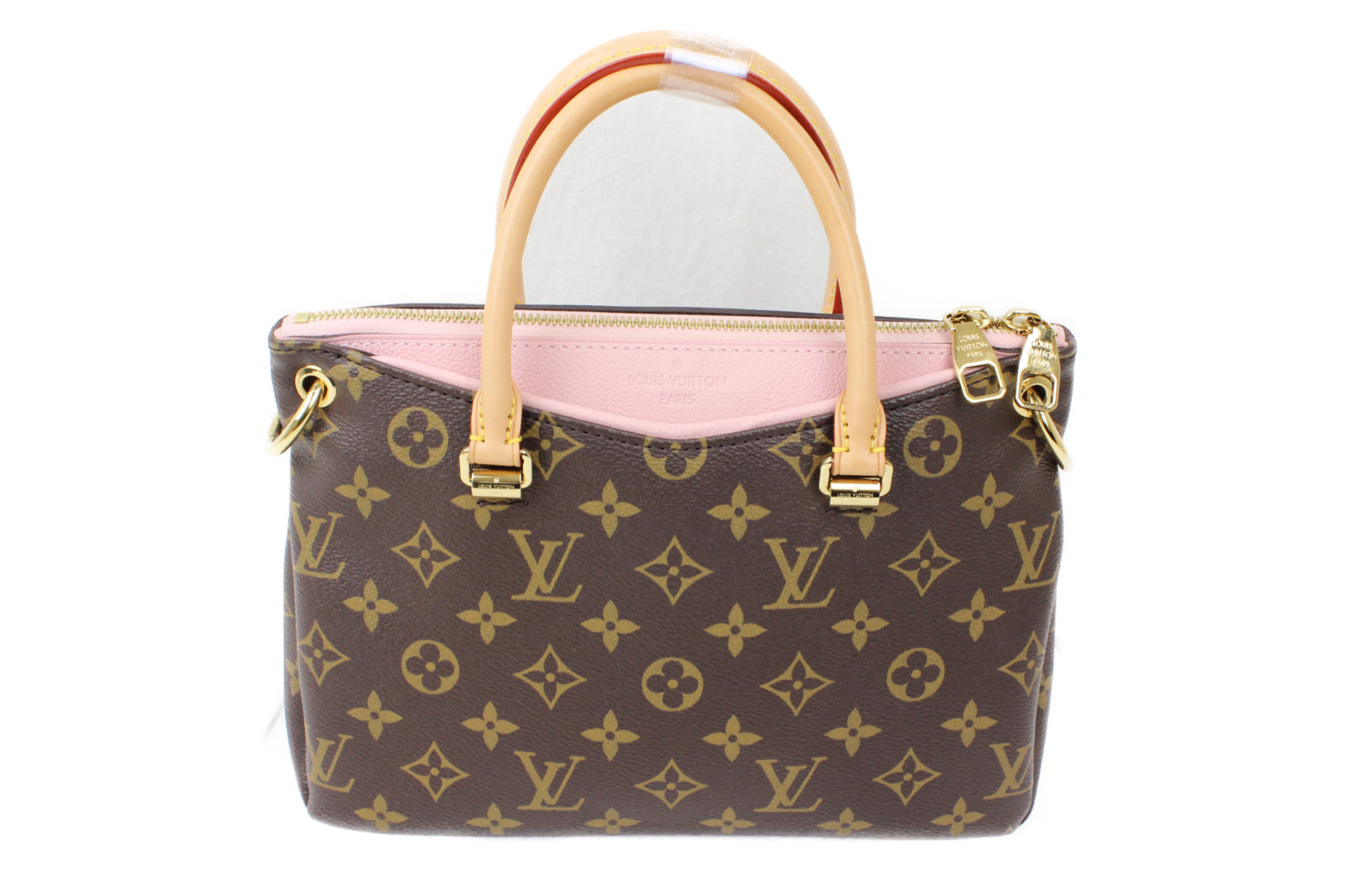 LOUIS VUITTON ルイヴィトンパラスBB M404642WAYバッグ モノグラムピンク カワイイプレゼント包装可 【中古】