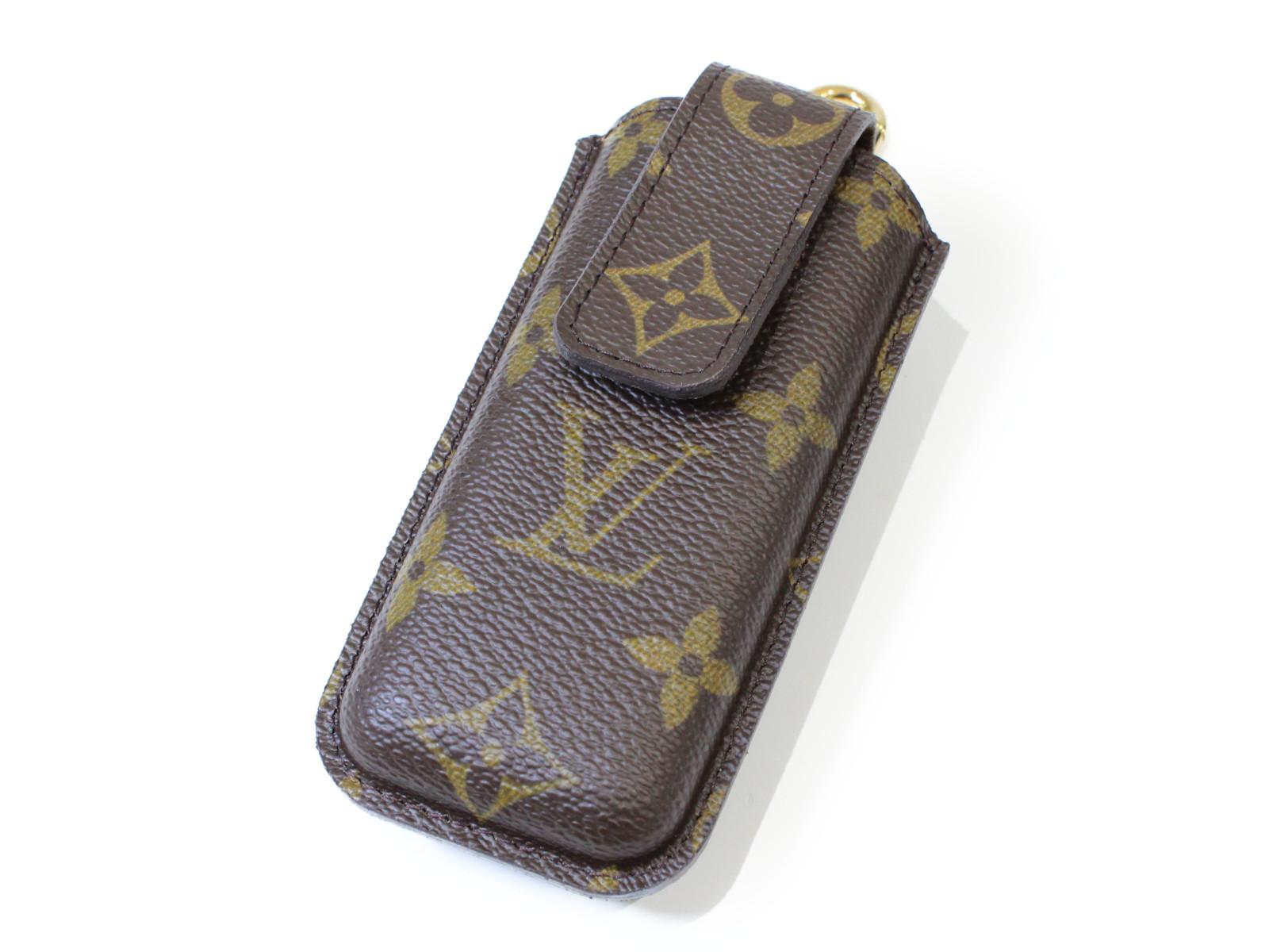 LOUIS VUITTON ルイ ヴィトンテレフォンヌ・エテュイ M63050モノグラム コンパクト携帯ケース プレゼント包装可【中古】