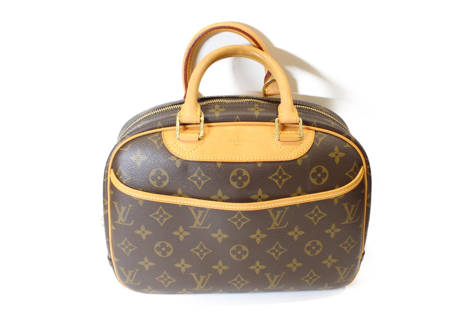 LOUIS VUITTON ルイヴィトントゥルーヴィル M42228ハンドバッグ コンパクト普段使い プレゼント包装可【中古】