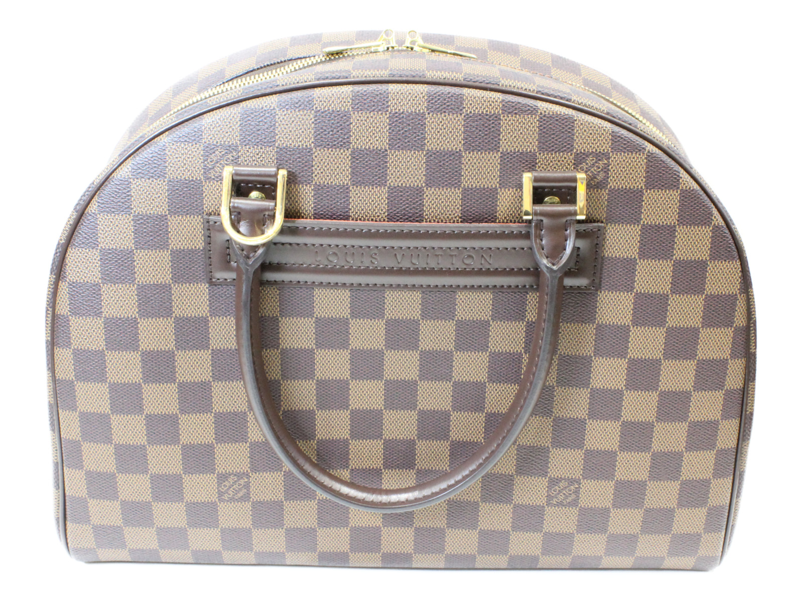 LOUIS VUITTON ルイ ヴィトンノリータ N41455ハンドバッグ ダミエ・エベヌプレゼント包装可 【中古】