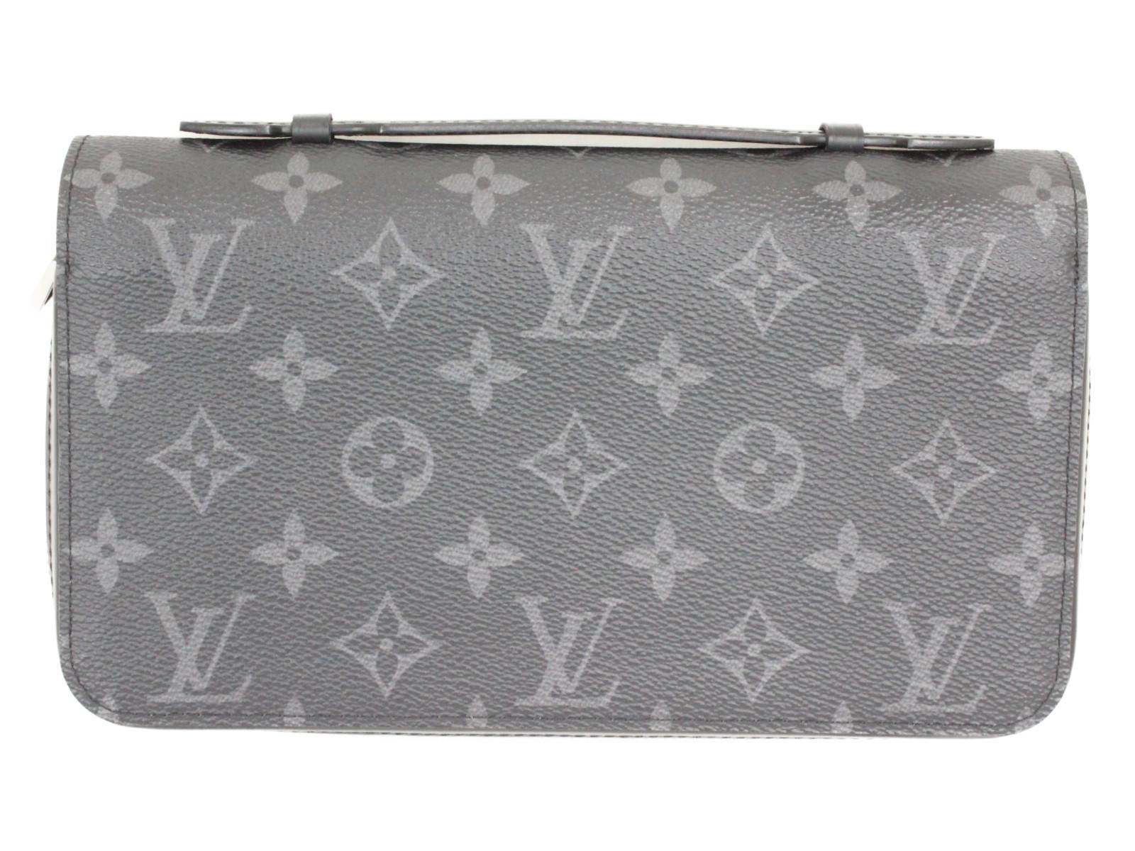 LOUIS VUITTON ルイヴィトンエクリプスジッピーXL M61698財布 大きめ 人気モノグラムエクリプスプレゼント包装可 【中古】