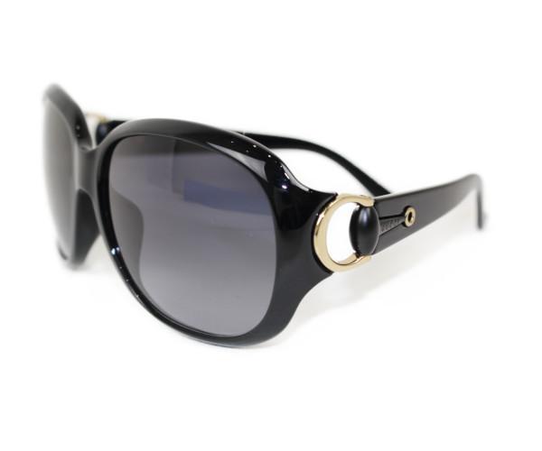Gucci グッチ サングラス GG3621 ブラック系×ゴールド金具 プラスチック レディース ユニセックス メンズ ウィメンズ 眼鏡 かっこいい 小物【中古】