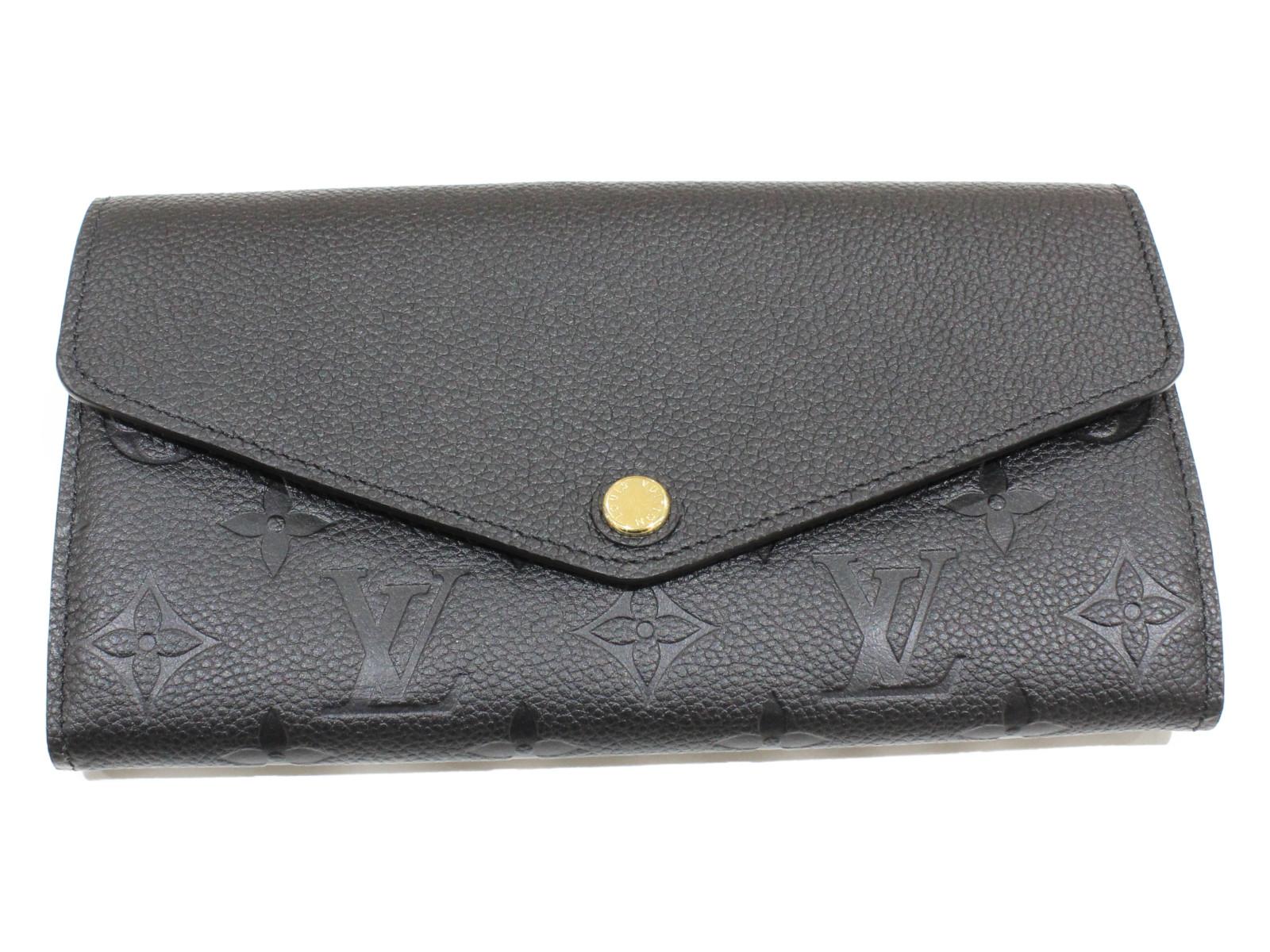 LOUIS VUITTON ルイ ヴィトンポルトフォイユ・サラ M61182アンプラント 長財布プレゼント包装可【未使用】