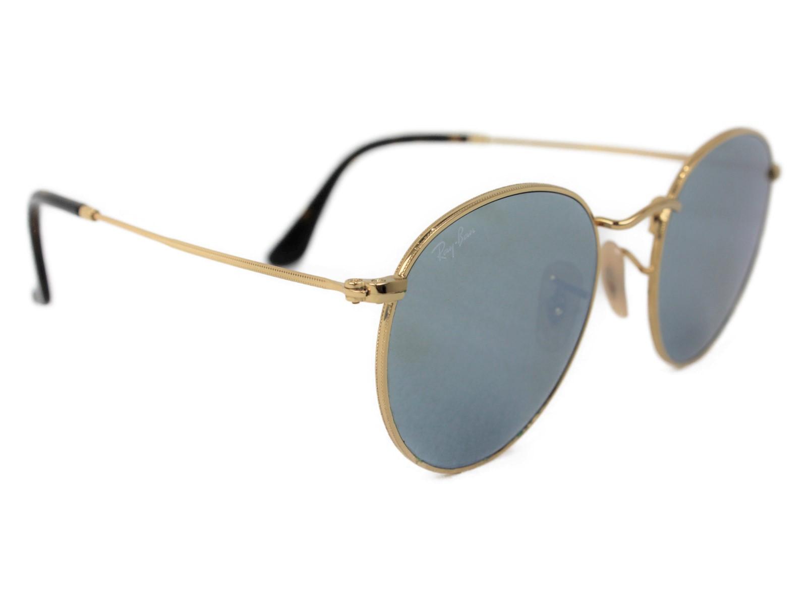Ray-Ban レイバン サングラス RB 3447-N ゴールド   レディース ユニセックス メンズ ウィメンズ 眼鏡 かっこいい 小物 紳士【中古】