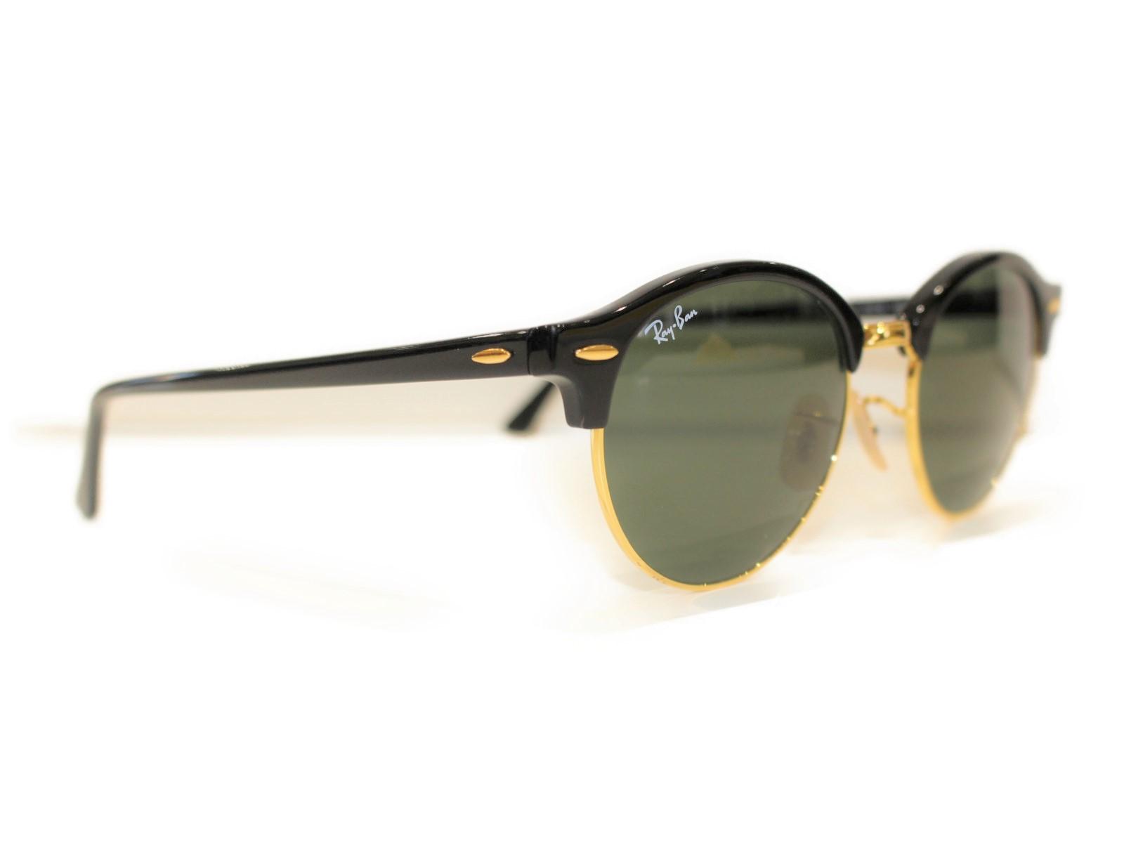 Ray-Ban レイバン サングラス RB 4246 901 ブラック×ゴールド   レディース ユニセックス メンズ ウィメンズ 眼鏡 かっこいい 小物 紳士【中古】