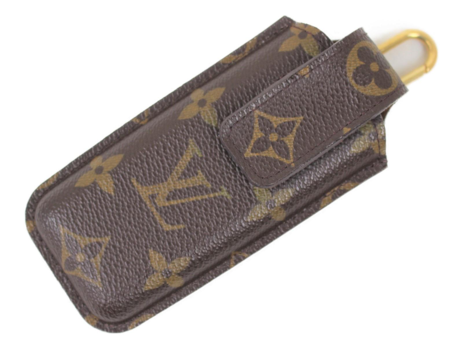 LOUIS VUITTON ルイヴィトン エテュイテレホン M63050 モノグラム モノグラムキャンバス メンズ レディース ウィメンズ ユニセックス ブランド 小物 旧携帯ケース 【中古】