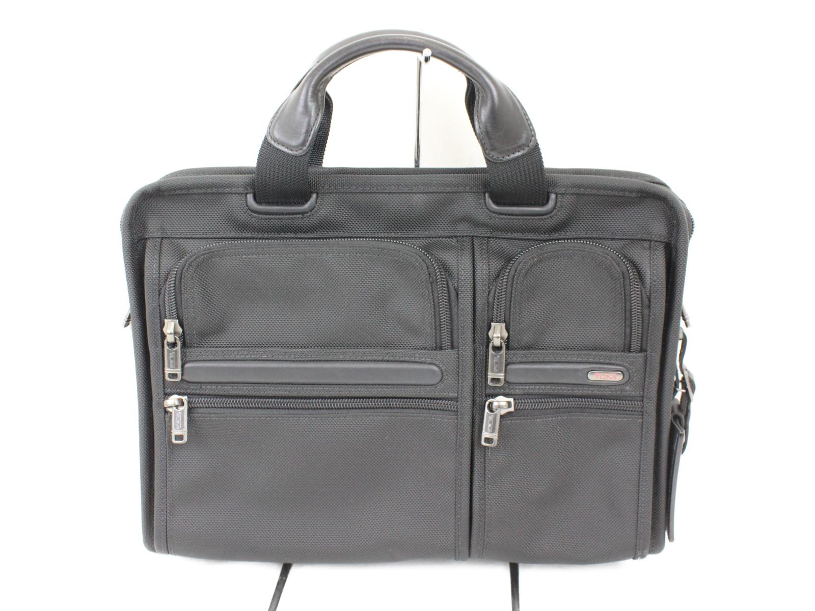 【TUMI(トゥミ)】ビジネスバッグ 26107D4ハンドバッグ ショルダーバッグ2WAY ナイロンプレゼント包装可  【中古】